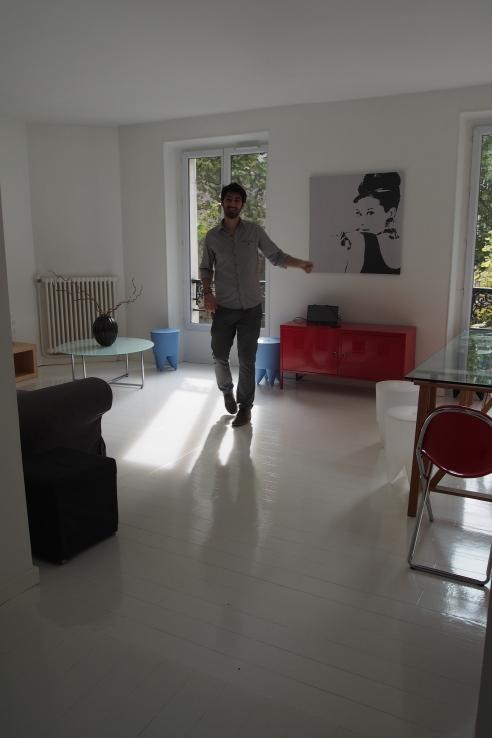Adrien in apartment
