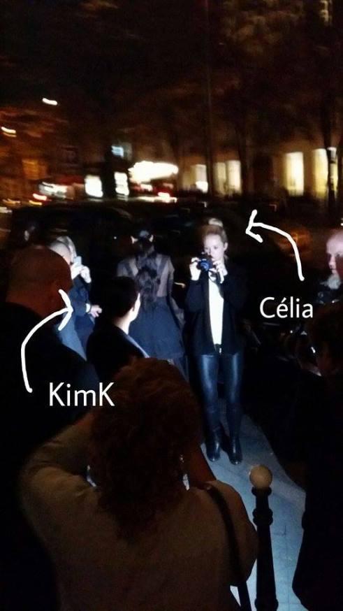 kim k and me